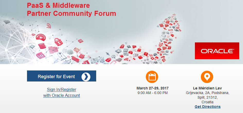 Get ready for the PaaS Partner Community Forum – Cloud