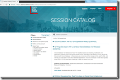 image thumb18 When Screen Scraping became API calling – Gathering Oracle OpenWorld Session Catalog with ...