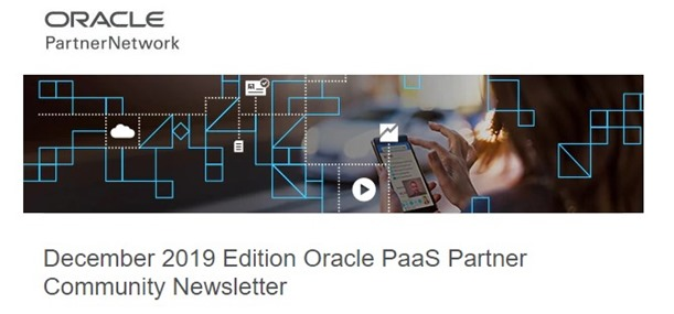 PaaS Newsletter December 2019