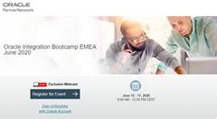 Integrate SaaS Bootcamp Europe 06.2020