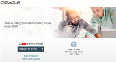 Integrate SaaS Bootcamp India 06.2020