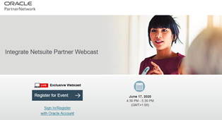 Netsuite PaaS Community Webcast June 2020